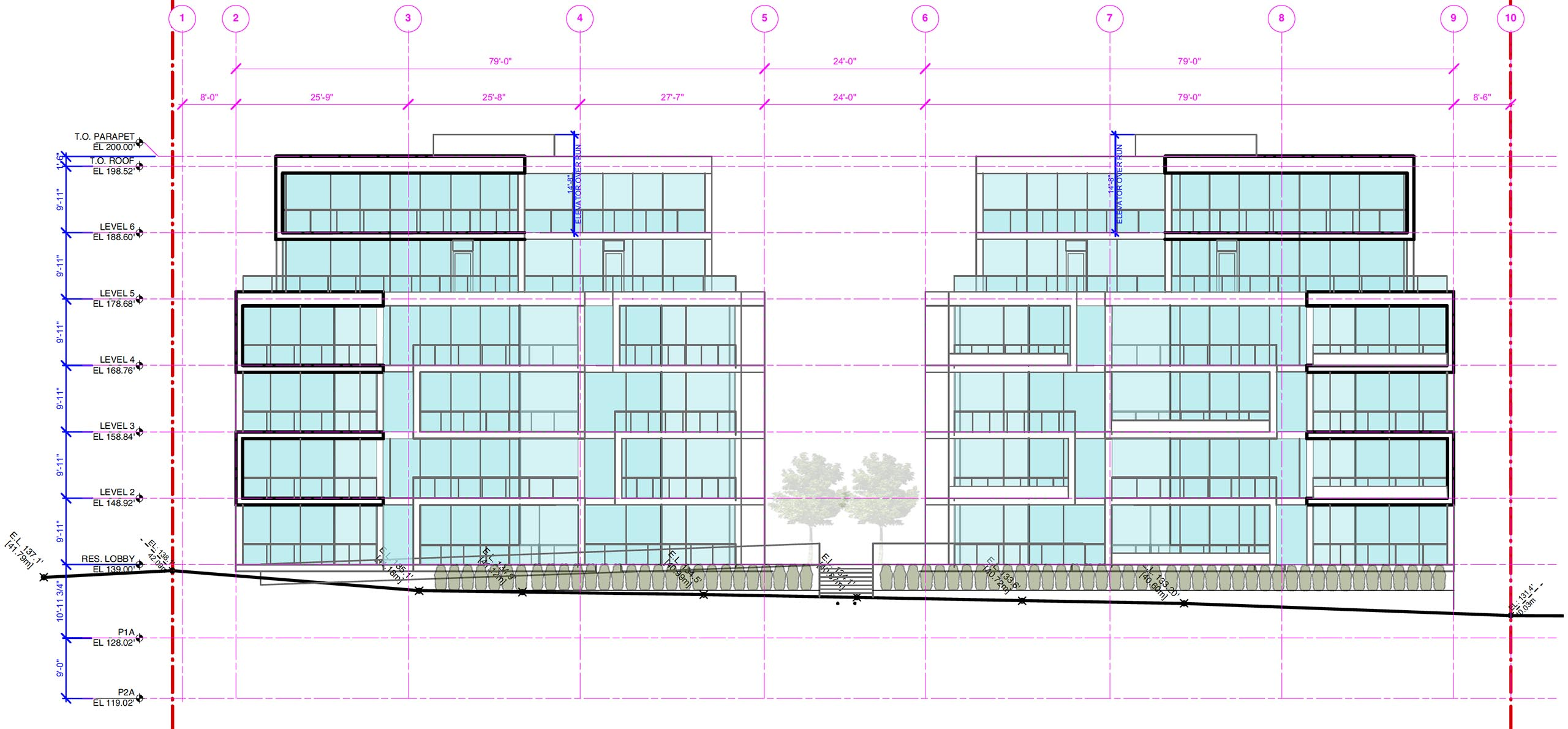 Cambie & 59th architectural drawing