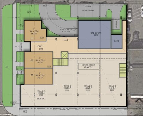 Larch & 41st site map